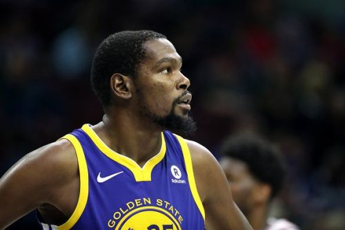 Kevin Durant scored the game-high 34 points and had 5 rebounds and 5 assists to show for his offensive prowess
