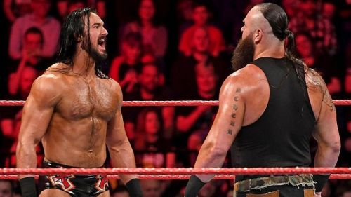 Longtime friends and foes Drew McIntyre and Braun Strowman