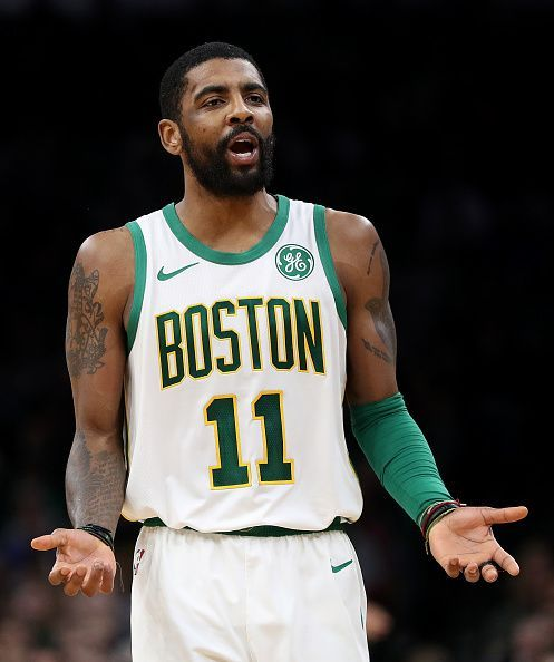 Kyrie Irving frustrated as Celtics lose again