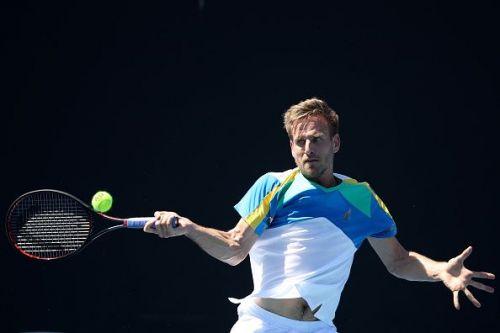 Peter Gojowczyk at 2019 Australian Open - Day 1