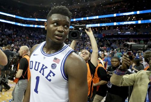 Zion Williamson will be in action for Duke today