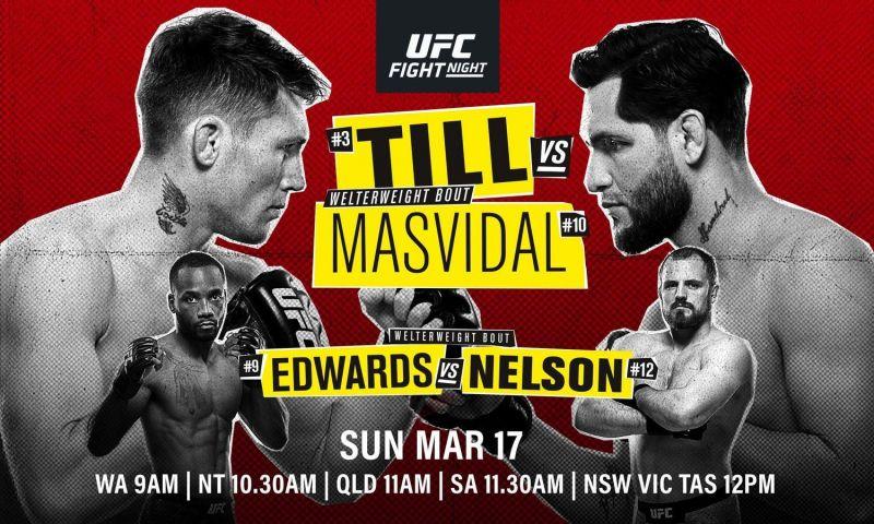 UFC Fight Night 147: Till vs. ...