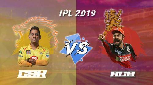 சென்னை சூப்பர் கிங்ஸ் vs ராயல் சேலஞ்சர்ஸ் பெங்களூர்