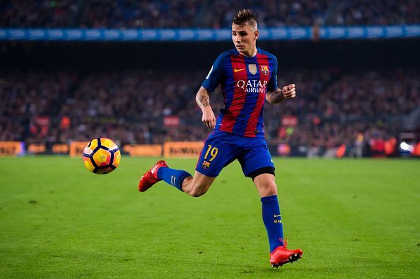 Lucas Digne previously played for Barcelona