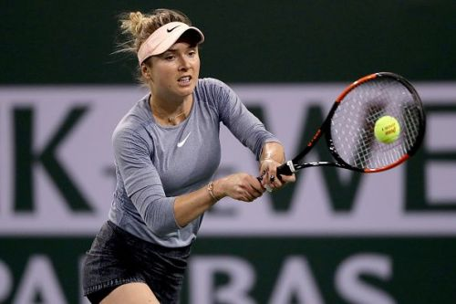 Elina Svitolina: a possible fourth-round opponent for Serena