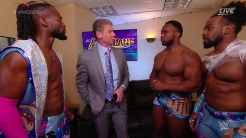 Will Kofi snap on Mr. McMahon?