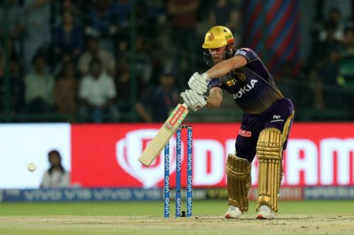 Chris Lynn is yet to make a significant contribution with the bat .( Image source: iplt20.com)