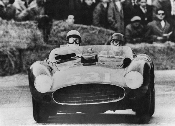 Alfonso de Portago (left) was a driver whose career was cut tragically short in the 1950s.