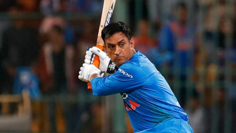 Dhoni played a brilliant knock in the first ODI