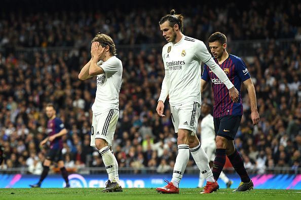 Real Madrid could end the season empty-handed