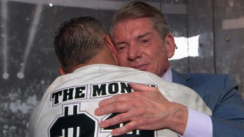 Image result for Vince McMahon crying shane