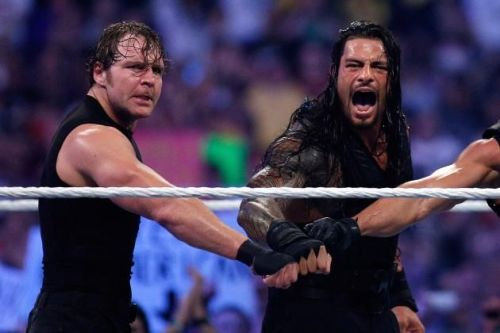 roman reigns and dean ambrose should win raw tag team title