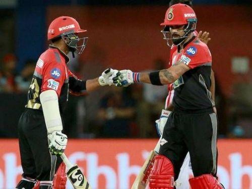 Virat and Parthiv Patel in Action