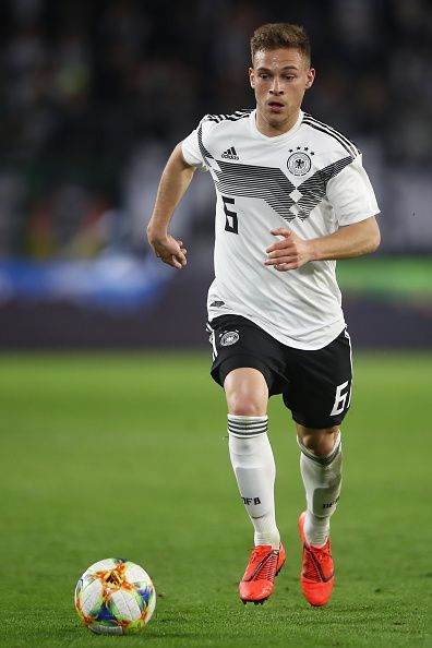 Joshua Kimmich is Germany's most experienced defender at the moment.