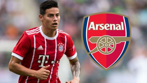 James Rodriguez is one of many players linked with Arsenal this summer