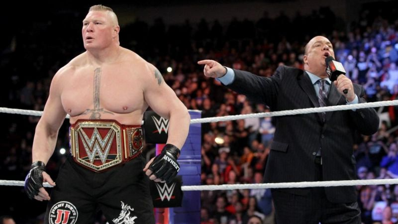 Lesnar has been one of WWE