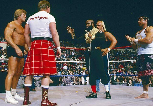 Mr. T was Hulk Hogan