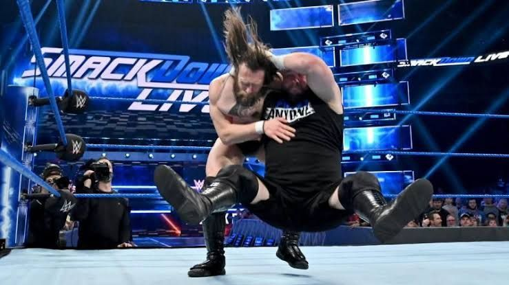Owens and Bryan on Smackdown Live this week