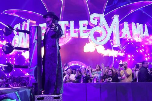 Image result for the undertaker wrestlemania 34