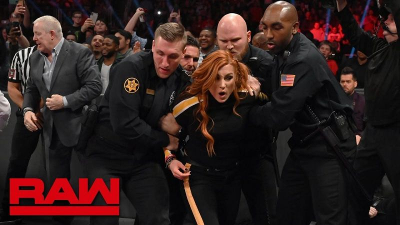 Becky arrested after attacking Ronda