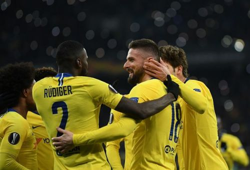 Chelsea are through to the quarter-finals of the Europa League