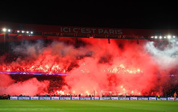 Paris Saint-Germain v Manchester United - Blazing the city of lights!