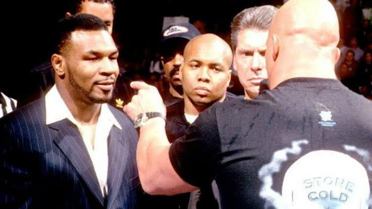 Tyson and Austin got in an altercation back in 1998!
