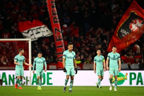 Arsenal suffered a 3-1 defeat at the hands of Rennes