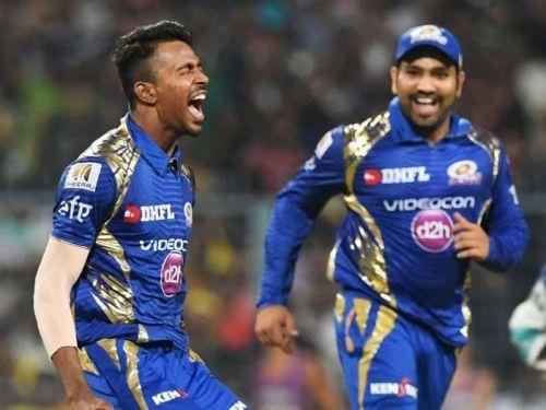 Hardik Pandya got his international breakthrough after playing well for Mumbai Indians.