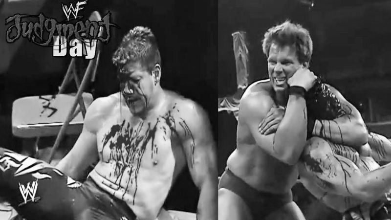 One of the bloodiest matches in WWE history!