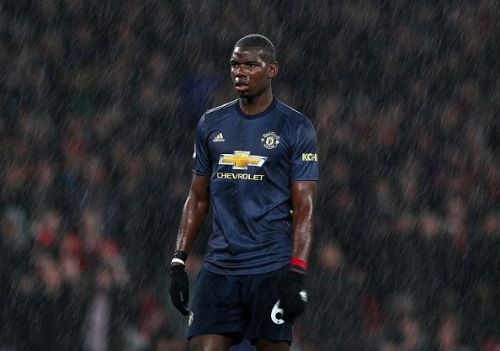 Paul Pogba has been in terrific form for Manchester United this season