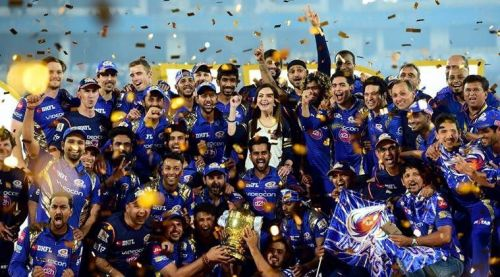 Mumbai have won the IPL thrice