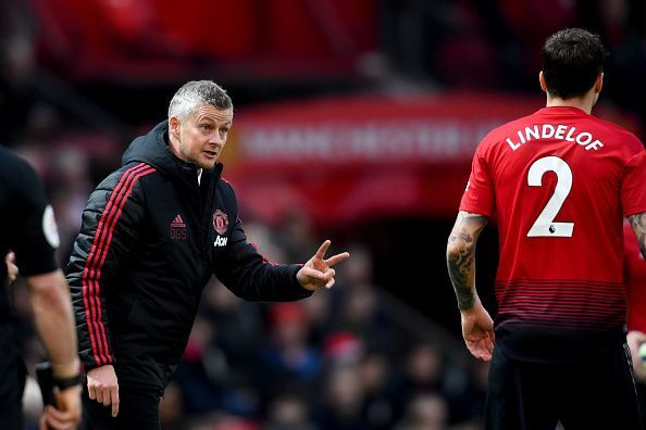 Manchester United may adopt a three at the back formation