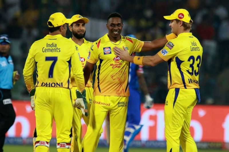 CSK won the contest with 2 balls to spare