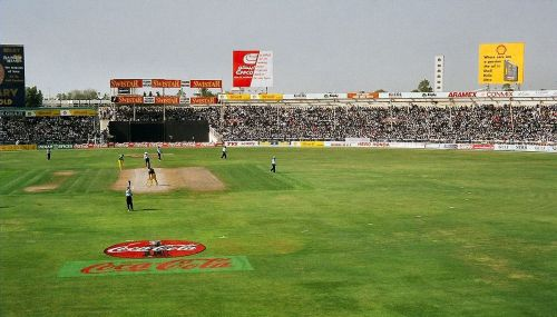 The Sharjah cricket ground