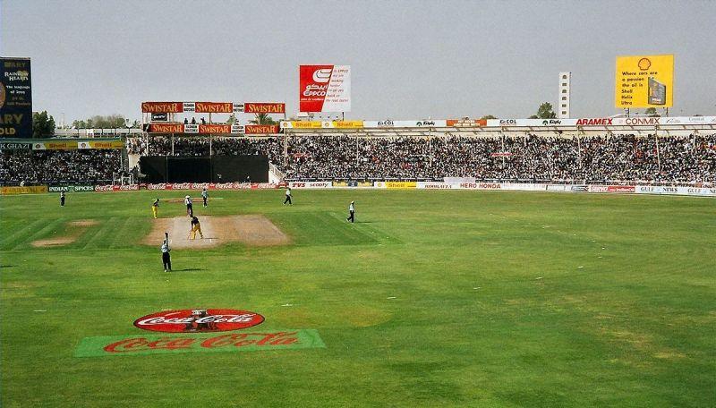 The Sharjah cricket ground