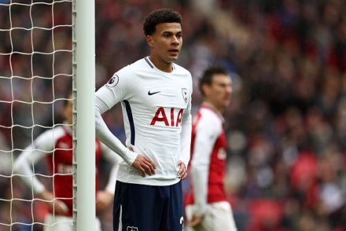 Dele Alli could miss the game through injury