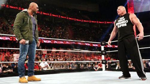 Batista needs to fight Brock before he departs again