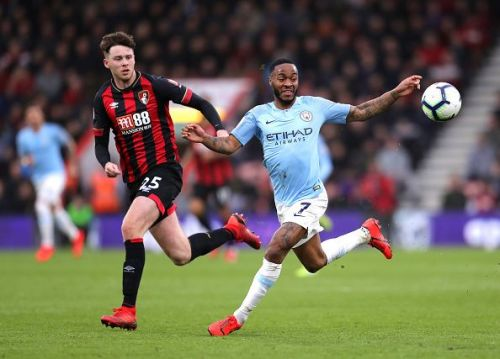 Jack Simpson with a great display against Manchester City.