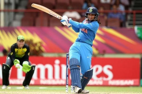 Smriti Mandhana has played for the Hobart Hurricanes in the Women's Big Bash League.