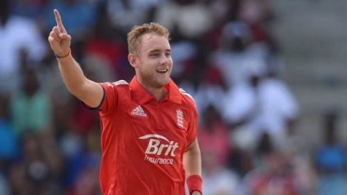 Stuart Broad has never featured in the IPL