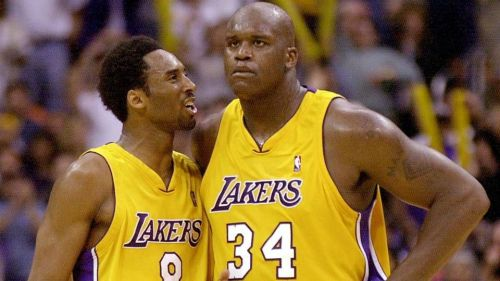 Shaq and Kobe formed one of the most dominating duos ever