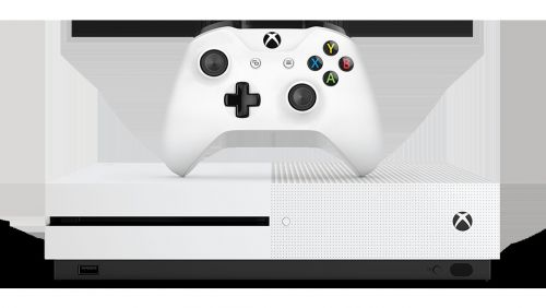 Xbox One S - still with a disc drive