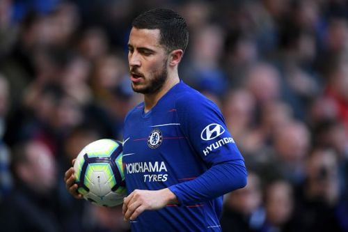 Eden Hazard is one of the world's best dribblers of the ball