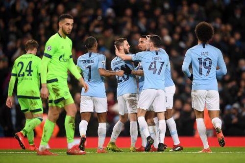 Manchester City v FC Schalke 04 - UEFA Champions League Round of 16: Second Leg