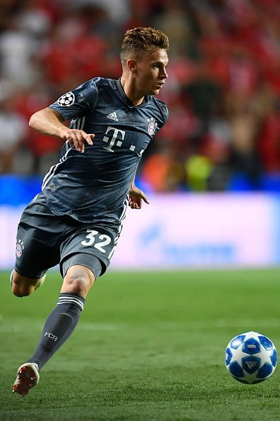 Joshua Kimmich will be a big miss for the German giants