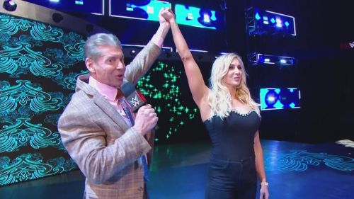 Image result for vince mcmahon charlotte flair