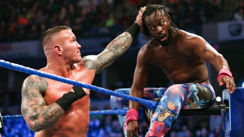 Randy Orton hoped to crush the dreams of the New Day as one of Kingston