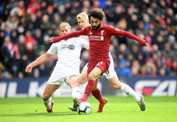 Taylor was everywhere defensively and made it difficult for Salah