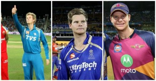 Steven smith captain in PWI, RR, RPS